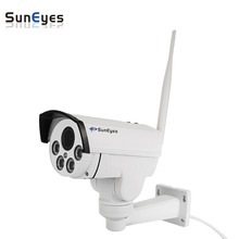 SunEyes SP-V1809SWG Wireless 3G and 4G IP Camera PTZ Outdoor Pan/Tilt/Zoom P2P Support 3G(WCDMA)and 4G(FDD-LTE) Sim Card Slot