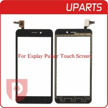 Brand New High Quality 5.0″ For Explay Pulsar Touch Screen Digitizer Sensor Front Glass Lens Black Free Shipping Tracking Code