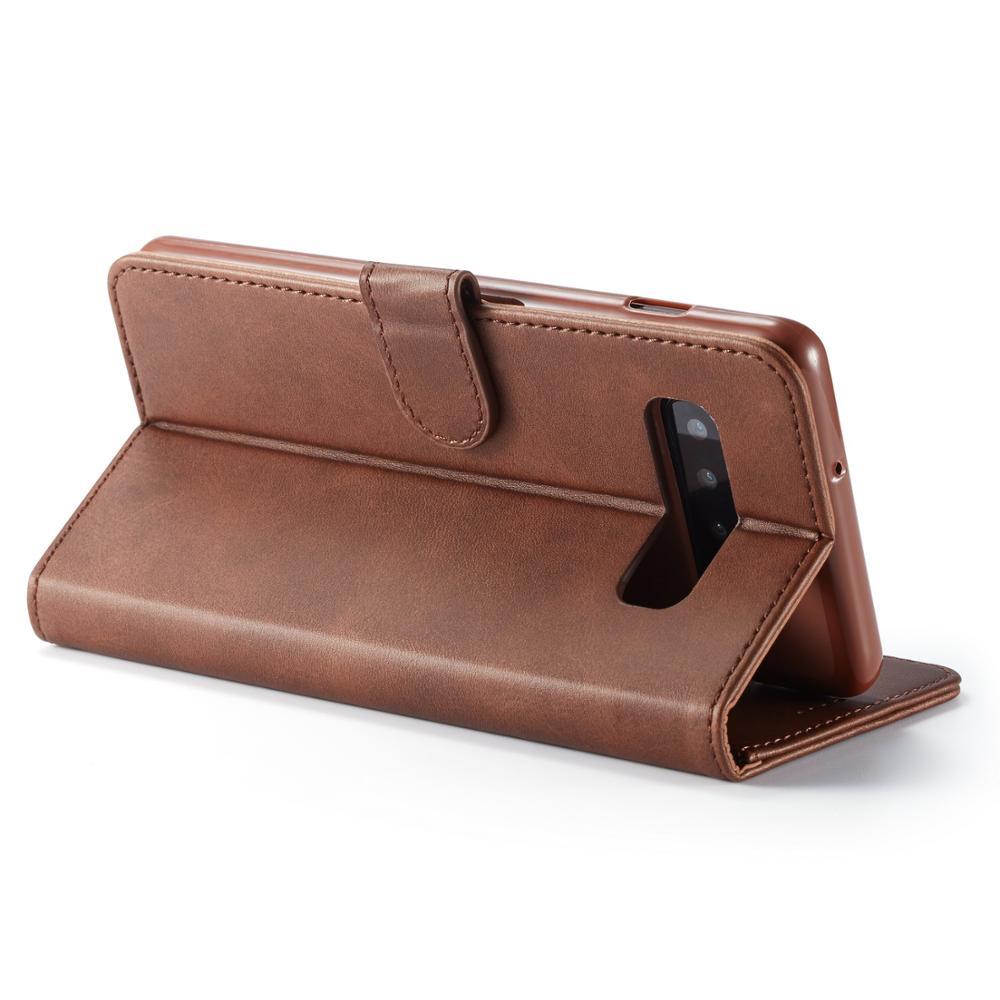 LOVECOM Vintage Leather Wallet Flip Phone Cases For Samsung Galaxy A10 A20 A40 A50 A60 M30 S10 Plus S10e S9 Note 8 9 Back Cover