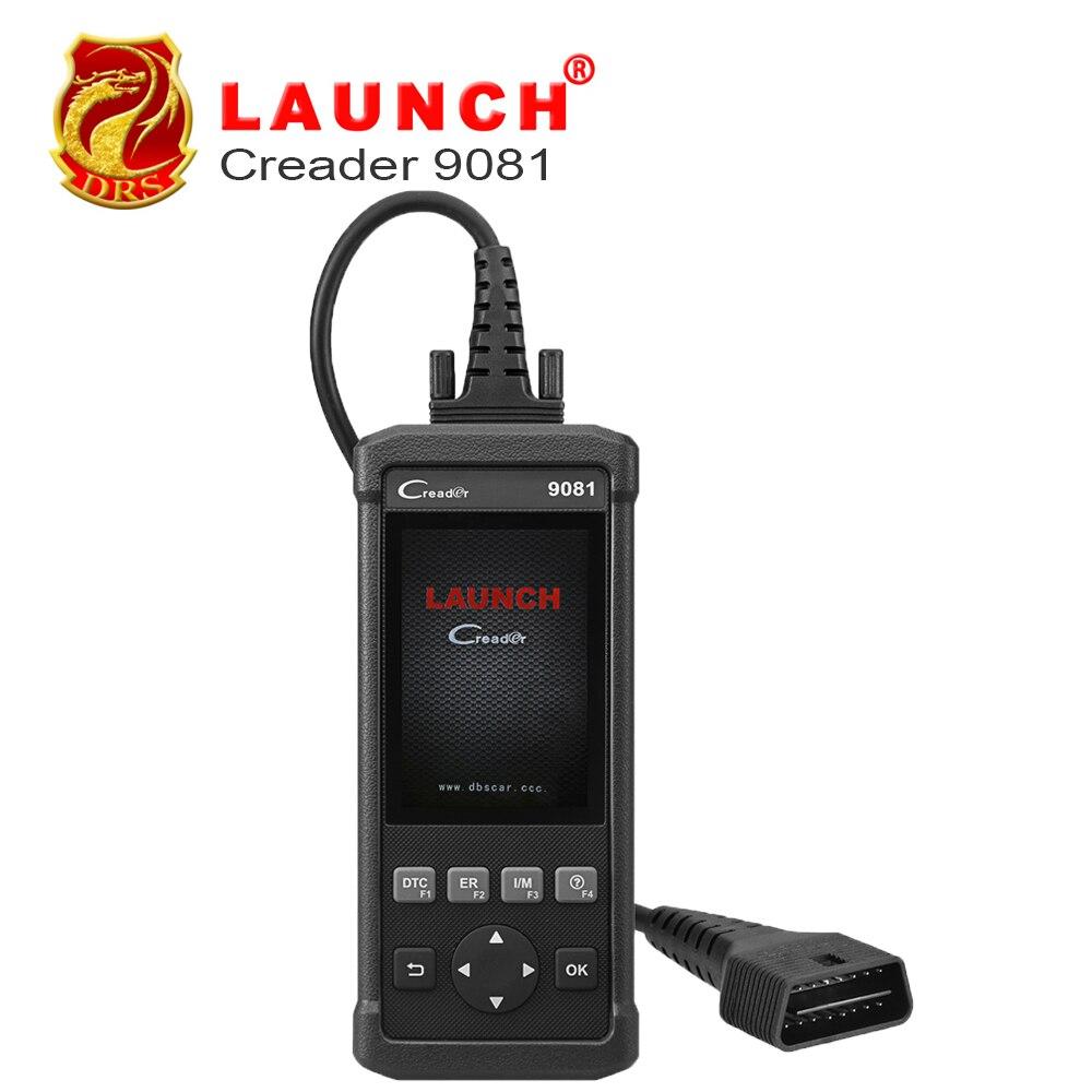 Старт CReader 9081 полный OBD2 сканер инструмент диагностики OBDII Авто Code Reader ABS SRS масла EPB BMS SAS DPF двигателя CR9081 сканирования