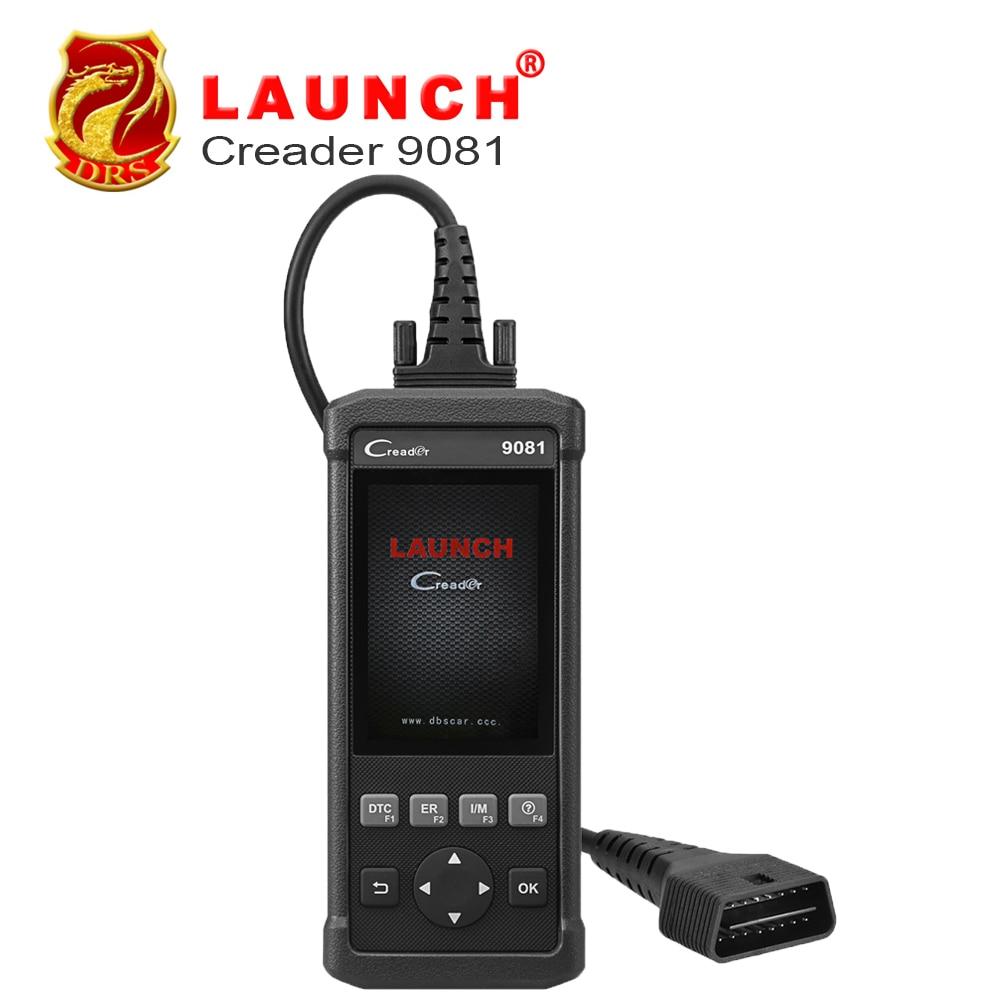 Launch DIY Scanner CReader 9081 Full OBD2 Scanner/Scan Tool Diagnostic OBD+ABS+SRS+Oil+EPB+BMS+SAS+DPF CR9081 Diagnostic-tool launch diy scanner creader 9081 full obd2 scanner scan tool diagnostic obdii oil epb bms sas dpf tpms abs bleeding cr9081