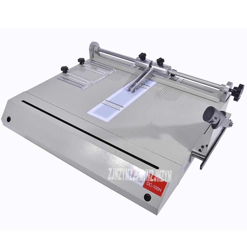 Hardcover making machine DC-100H, hardcover case maker, A4 vertical loading book cover making machine Hot trust 17820 hardcover skin