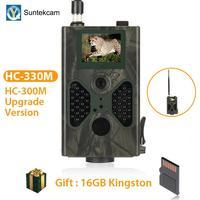 SUNTEKCAM HC 330M 16MP 940nm Night Vision Hunting Camera MMS Trail Camera SMS GSM GPRS 2G Wild Camera Trap Photo Trap PK HC 300M