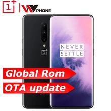 Глобальный rom Oneplus 7 Pro 6 GB 128 GB смартфон 6,67 дюймов 48MP Тройная камера 30 W зарядное устройство NFC 4000 mAh Snapdragon 855 AMOLED экран
