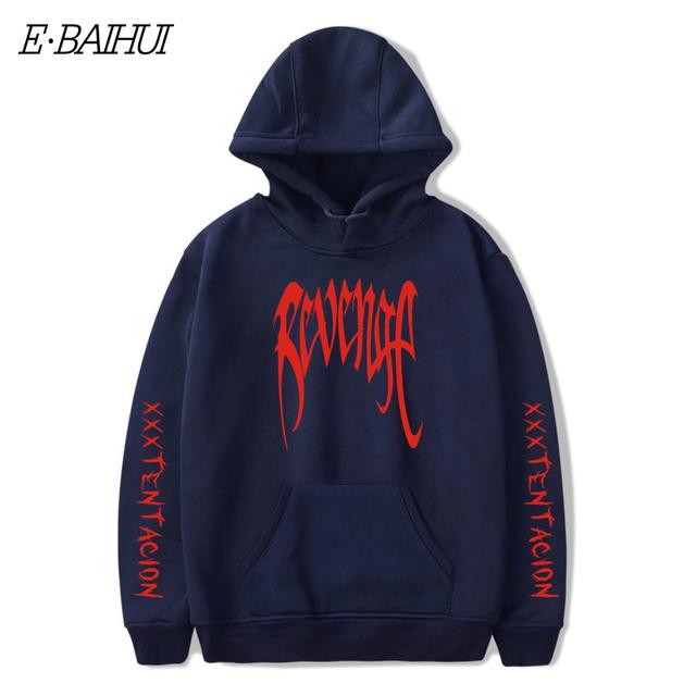 E-BAIHUI Men REVENGE 'KILL' HOODIE MANS Black – Tentacion Bad Vibes Forever sweatshirts men hoodies hoods Hoody XXXTentacion W01