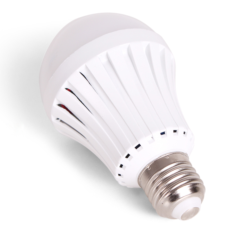 LED Emergency Light Bulb Automatic Charging 5W 7W 9W 12W Cold White Rechargeable Battery Lamp E27 AC85-265V LED Lampada SMD 5730 led smart bulb e27 5w 7w 9w led emergency light 85 265v rechargeable battery lighting lamp for outdoor lighting bombillas