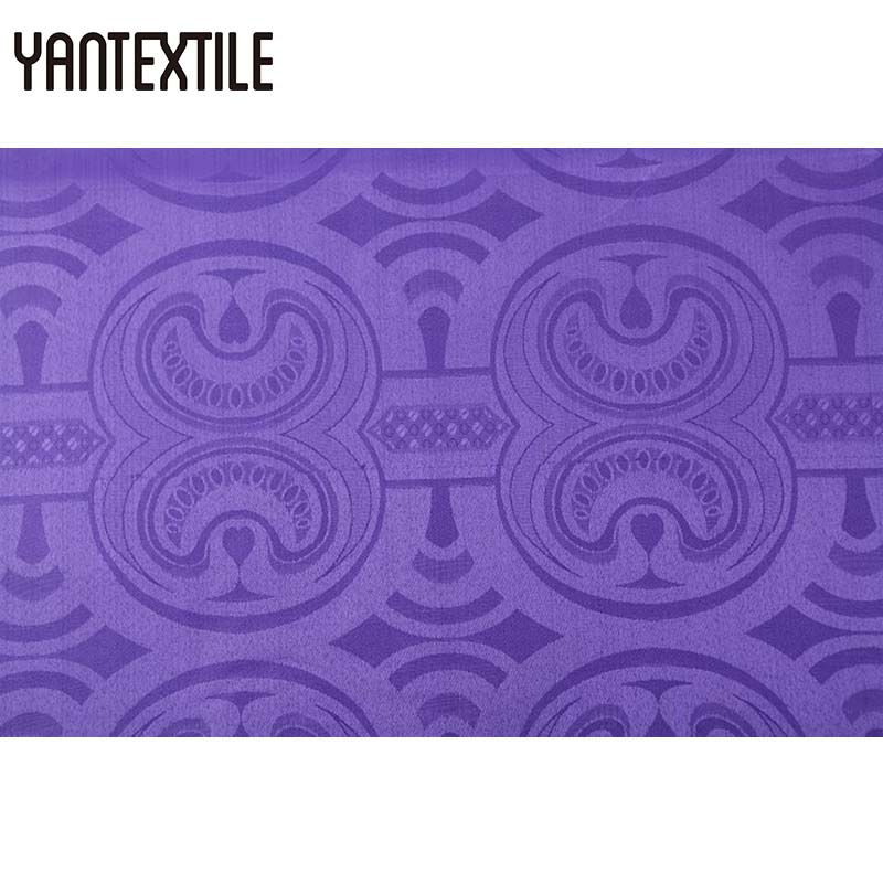 YANTEXTILE Purple Dress African Fabric Bazin Riche Damask Jacquard Fabric Guinea Brocade Fabric Shaoxing Textile Dress PatchworkYANTEXTILE Purple Dress African Fabric Bazin Riche Damask Jacquard Fabric Guinea Brocade Fabric Shaoxing Textile Dress Patchwork