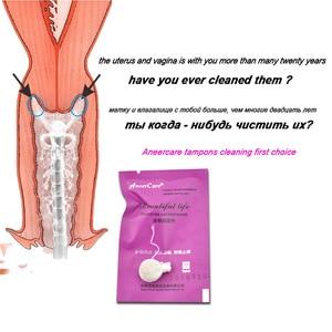 Image 4 - 200pcs medicinal vaginal tampons chinese medicine swab discharge toxins feminine hygiene gynaecology pad tampons beautiful life