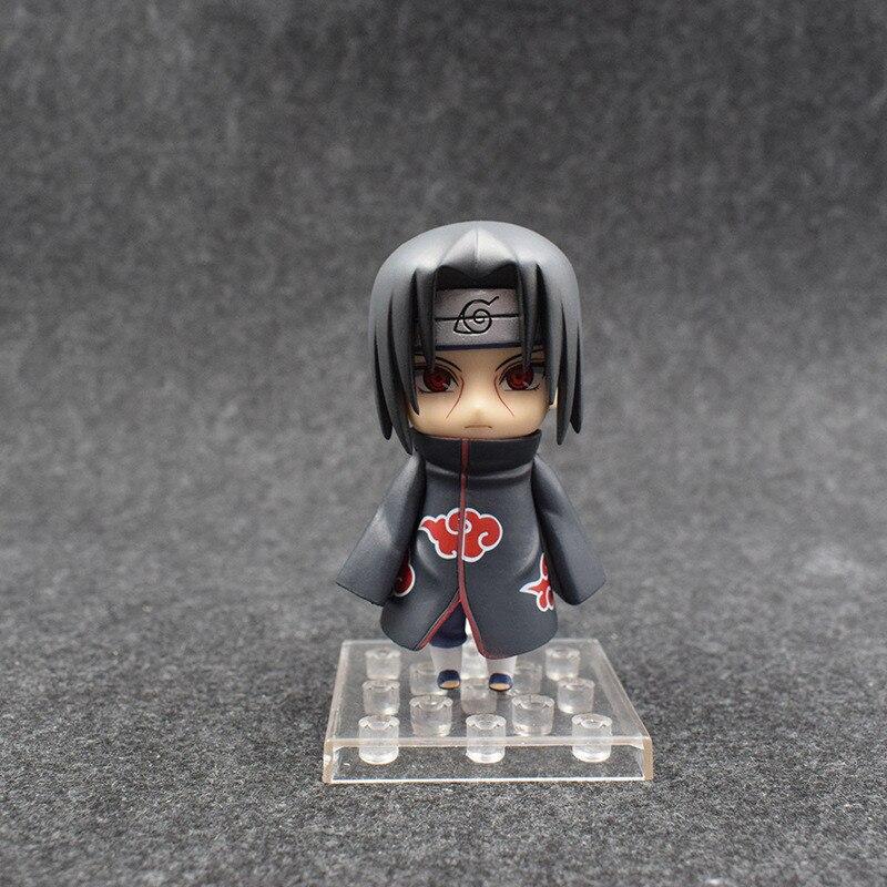 New Anime Naruto Shippuden Action Figures Toys Uchiha Itachi Figuras Dolls Brinquedos Cosplay Gift 3pcsset 10cm (4)