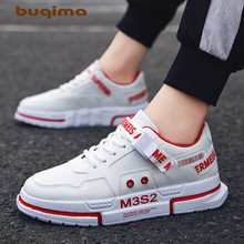 Buqima mens shoes sports student sewing line outdoor leisure low 2019 new