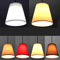 Adjustable Cloth art fabric lamp lights single head dining room restaurant cafe store aisle balcont corridor deco pendant lamps