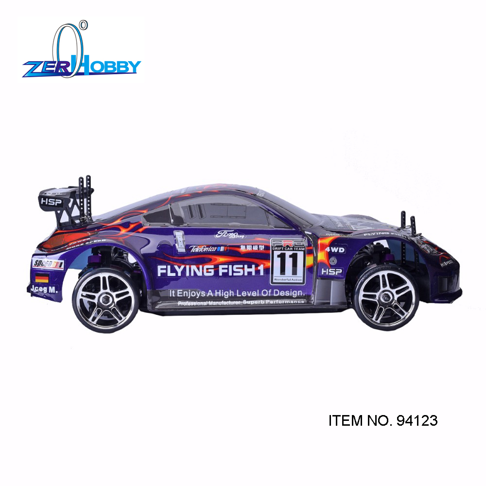 HSP Rc Car 1/10 Electric Power 4wd On Road Rc Drift Car Brushless Racing FlyingFish 94123 High Speed Hobby Remote Control RC Car стоимость