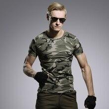 Sommer Im Freien Männer Military Tactical T-shirt Männer Atmungs Hunter Camouflage-t-shirt Python Camo Tees Mesh Kleidung T-shirts