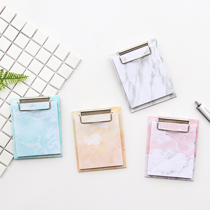 JOUDOO 4PCS/LOT Creative Memo Pad With Clipboard Cute Cat Post It Bullet Journal Sticky Note for School Office Supplies