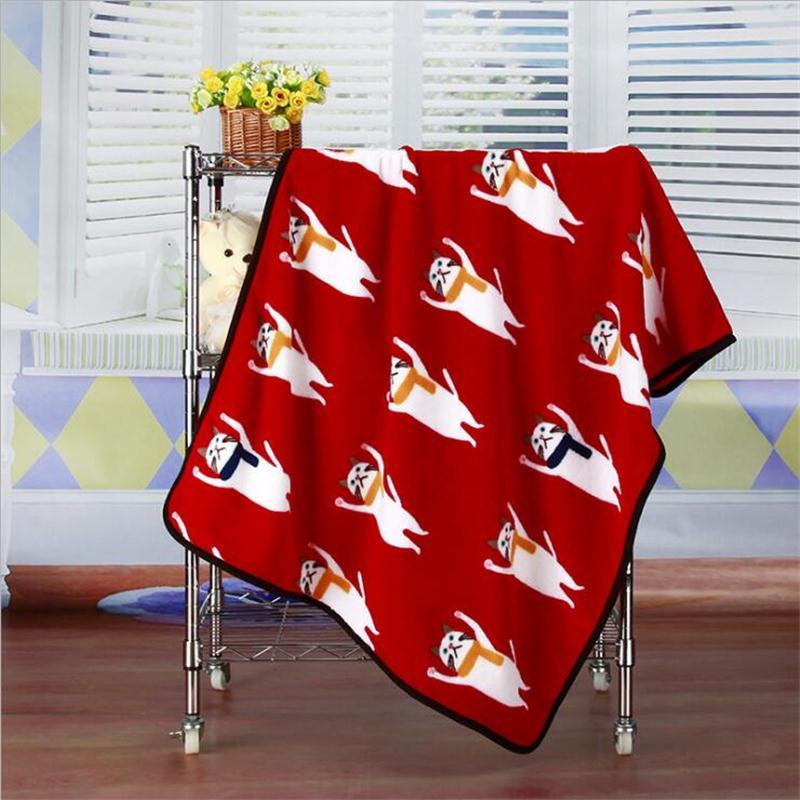 New Hot Flannel Baby Blanket 100x75cm Throw Cartoon Soft Blankets Child  Sheet Thick Warm Winter Fleece Cobertor Tags  d93e81acd