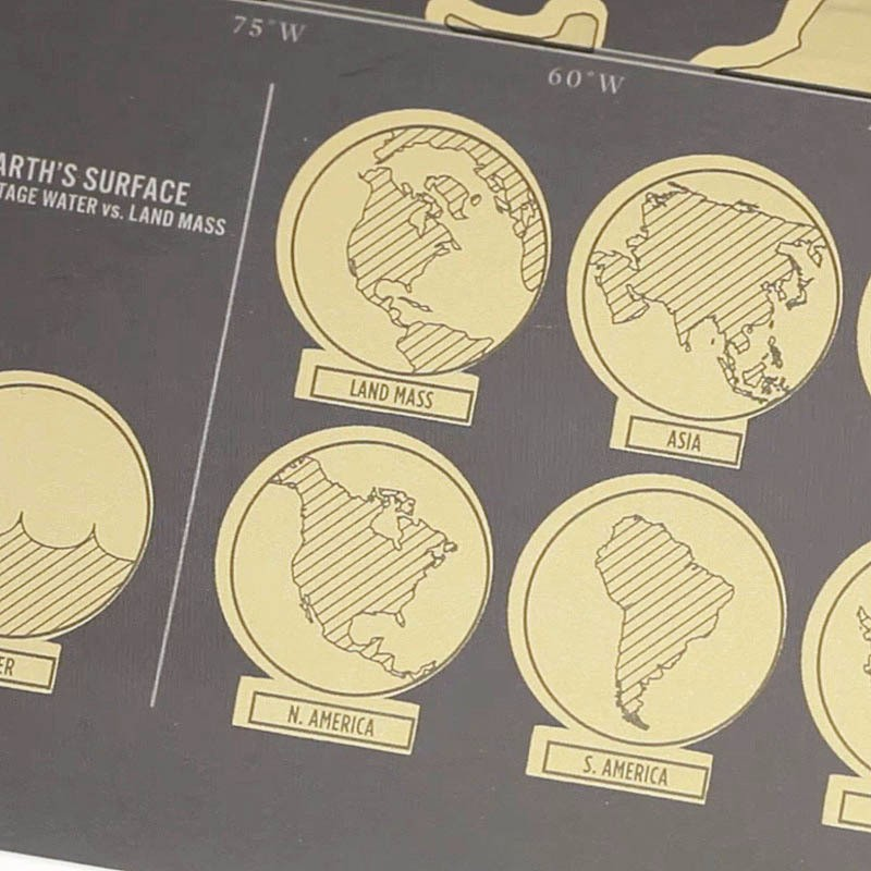 Scratch Off World Map 8