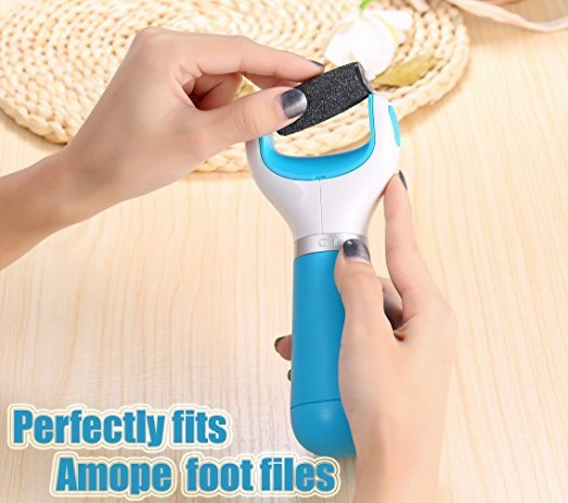 Epilator Coarse Replacement Roller Refill Heads for Amope Pedi Perfect Electronic Foot File with Diamond Crystals