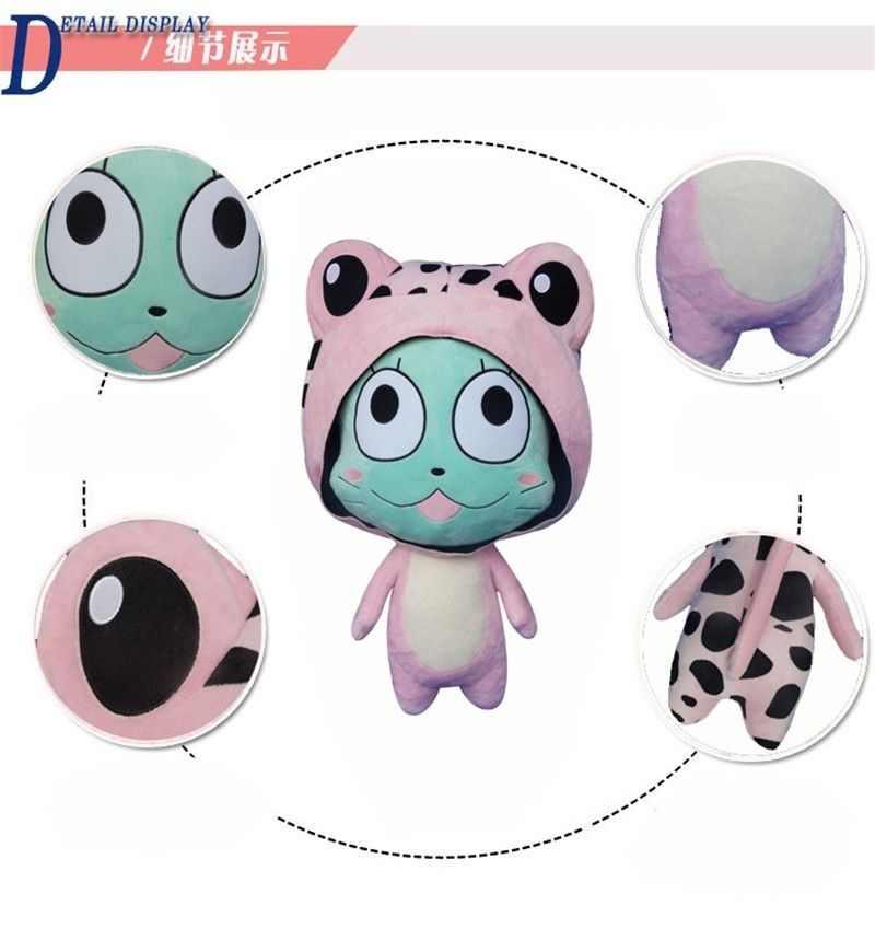 2018 Fairy Tail Frosch Frosche Lembut Stuffed Plush Mainan 23 inches Anak-anak Hadiah Baru Plushie