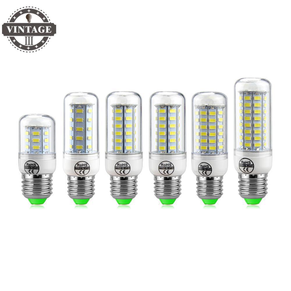 220V Chandelier LEDs Candle light Spotlight lantern 1Pcs NEW LED Corn Bulb E27 3W 5W 7W 12W 15W 18W 20W 25W SMD 5730 lamps