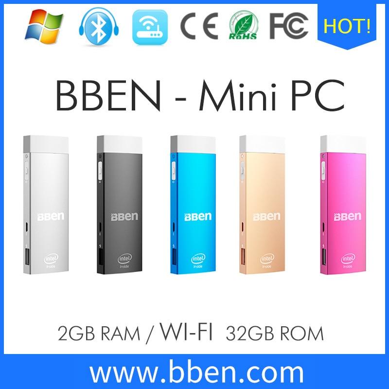 Bben mini pc de windows 10 y android 5.1 smart tv box pc escritorio z8350 media