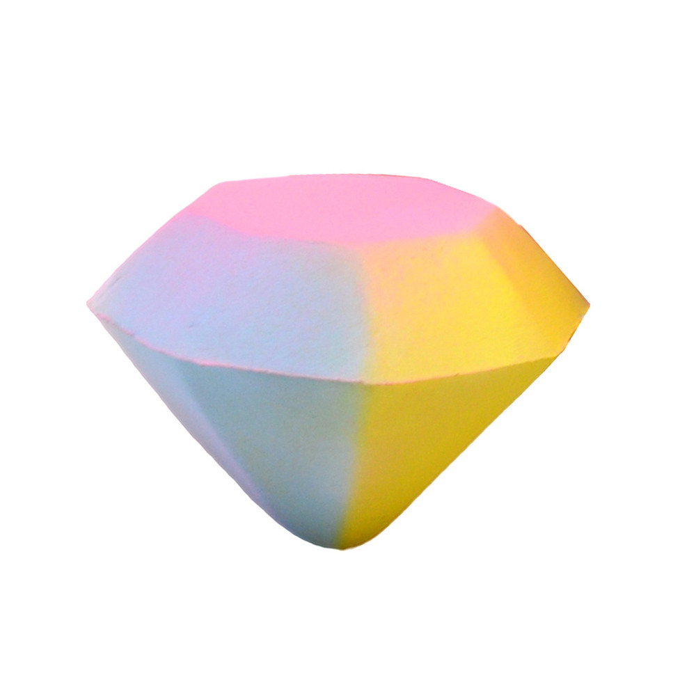 Stress Reliever Colorful Diamond Scented Super Slow Rising Kids Toy  Squeeze Toy Anti Stress Reliever Toy Slow Rebound