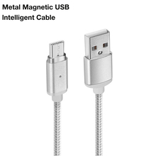 Magnetic Nylon Braided Fast Charging Type-C Cable For Vivo X27 iQOO NEX V1821A High Speed Type C