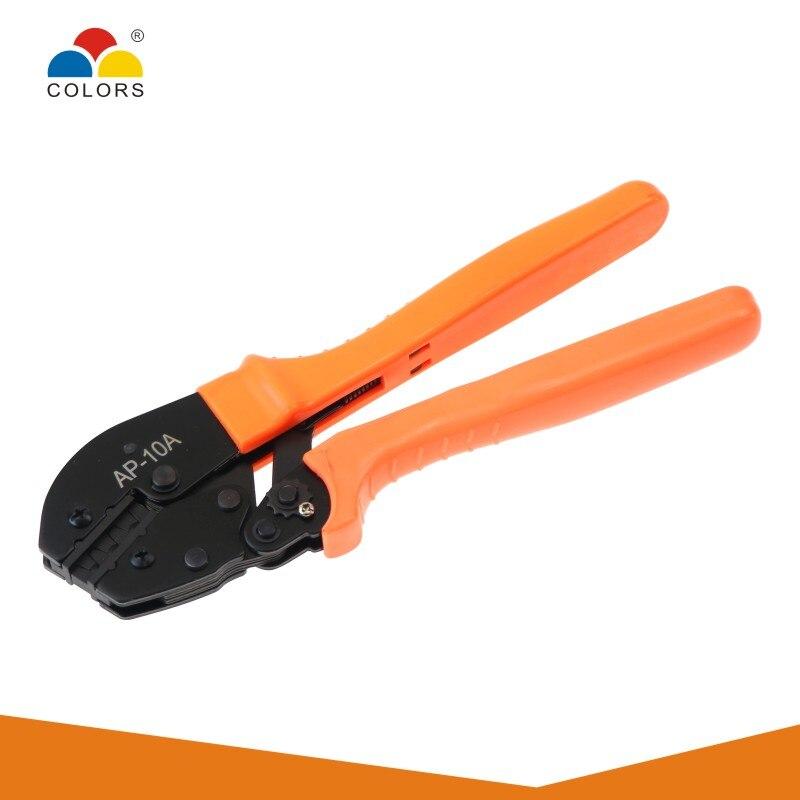 Купить с кэшбэком COLOR Crimping Plier Tool Crimper Kablo Kesici Cable Cutter Pliers Tools Crimp Alicate Wire Alicate Crimpador Alicates