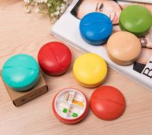 ABS material Compartment Travel Pill Box Organizer Tablet Medicine Storage Dispenser Holder Health Care Tool M40