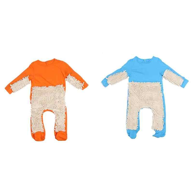 049c8fc5e26f Detail Feedback Questions about Baby Mop Romper Boy Girl Long Sleeve ...