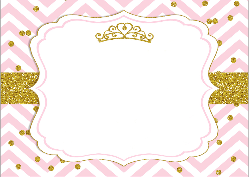 7x5FT Pink Chevron Gold Coins Crown Baby Shower Custom Photo Studio Backdrop Background Vinyl 220cm X 150cm In From Consumer Electronics On