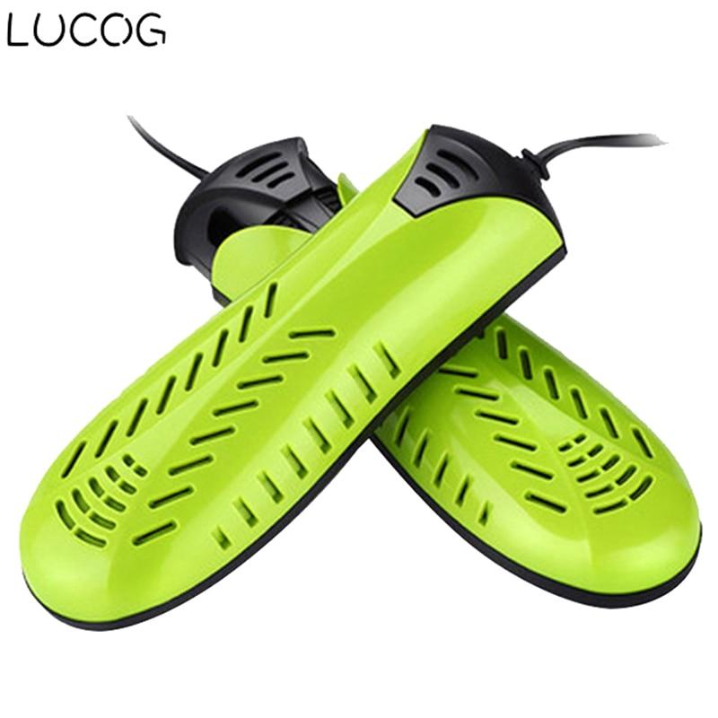 LUCOG 20W Electric Shoe Dryer 220V Dual Core Hetaer Sterilization Electric Dryer For Shoe Boot Glove