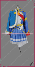Anime Cosplay Costumes Revue Starlight Kagura Hikari Skirt Uniforms shawl red coat Full Sets Women halloween costume A