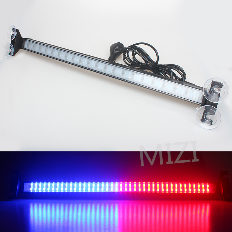 Windshield 80 Led Strobe Light Warning Light Flash Signal Emergency Fireman Police Beacon Car Truck High Power Bright Lamp