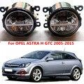 Para OPEL ASTRA H GTC 2005-2015 faróis de neblina LED Car styling nevoeiro CONJUNTO da lâmpada 1