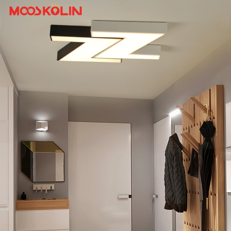 Modern led ceiling lights with remote Control for Living room Bedroom Kitchen lights Fixtures luminaria Aisle lamp plafon led led ceiling lights for hallways bedroom kitchen fixtures luminarias para teto black white black ceiling lamp modern