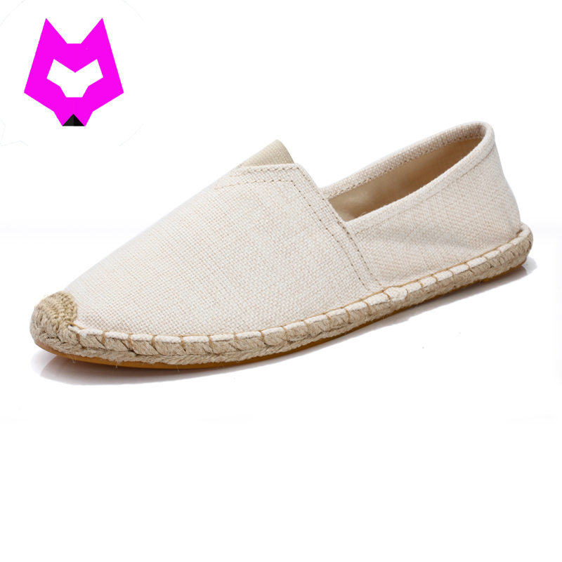 YTracyGold Large Size Summer Shoes Women Casual Shoes Unisex Canvas Espadrilles Shoes Breathable Slip on Footwear Loafers 2018 women summer slip on breathable flat shoes leisure female footwear fashion ladies canvas shoes women casual shoes hld919