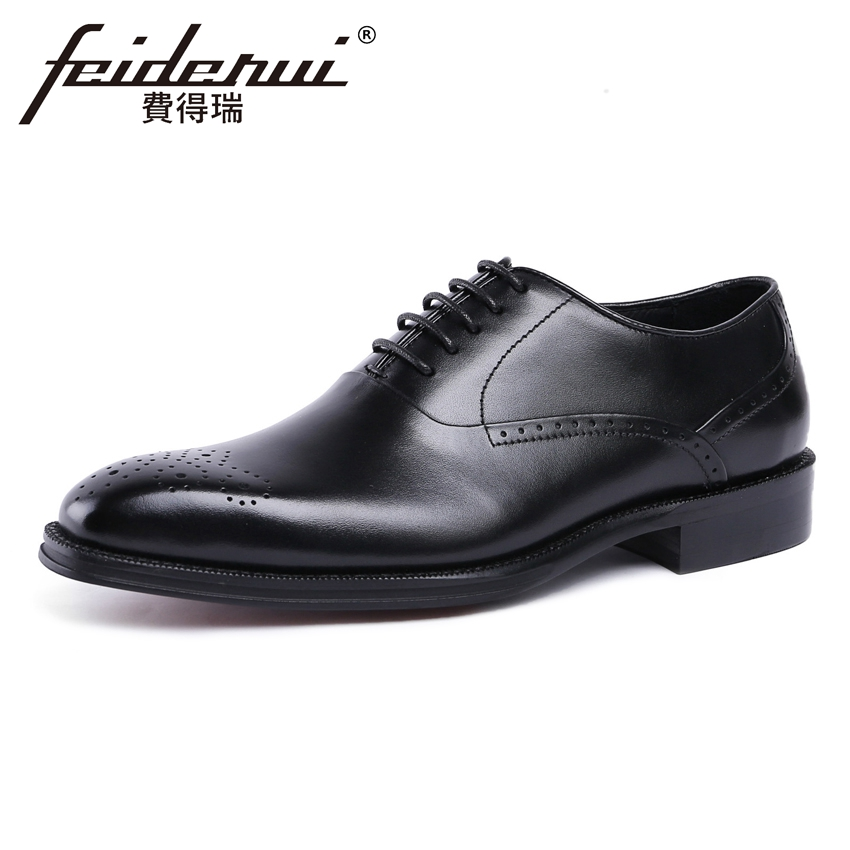 High Quality Vintage Genuine Leather Mens Handmade Party Oxfords Round Toe Man Formal Dress Wedding Breathable Shoes YMX235High Quality Vintage Genuine Leather Mens Handmade Party Oxfords Round Toe Man Formal Dress Wedding Breathable Shoes YMX235