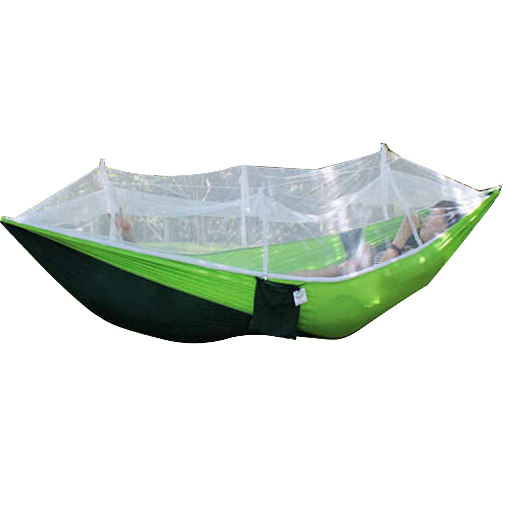 260x130cm portable tents high strength parachute fabric for Net hammock bed