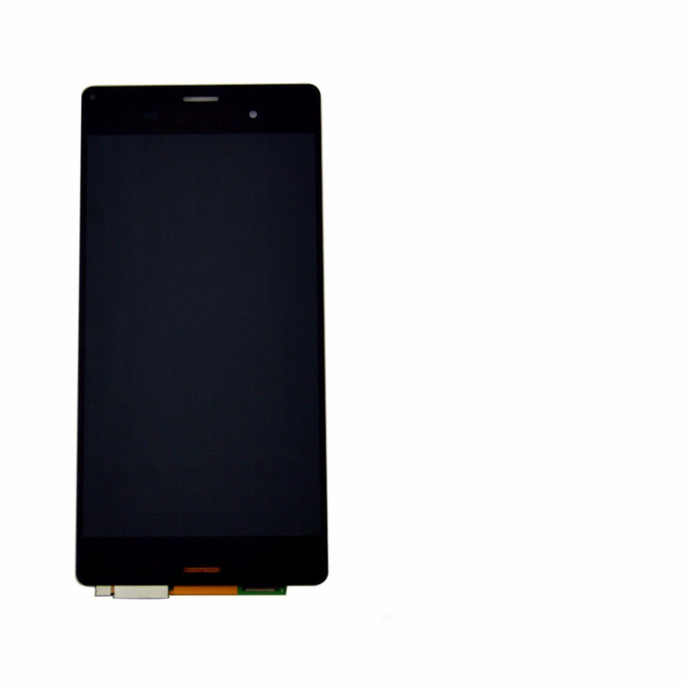 Black LCD Display Touch Screen With Digitizer Assembly Replace Panel For Sony Xperia Z3 D6603 D6643 D6653 D6616 new z2 lcd touch screen for sony xperia z2 l50w d6502 d6503 d6543 display touch panel digitizer tracking