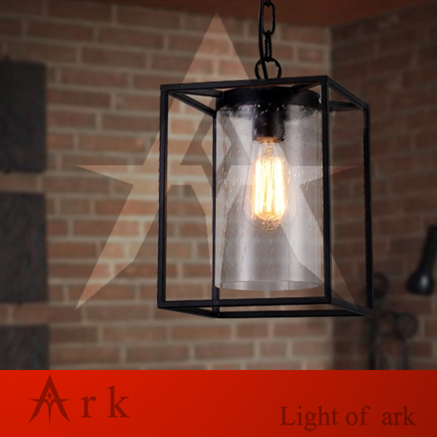 Ark Light Free Shipping Vintage Indoor Outdoor Pendant