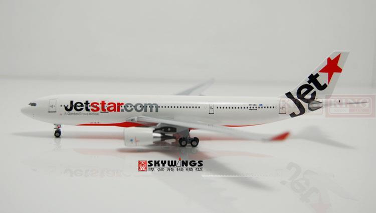 Aeroclassics A330-200 VH-EBC 1:400 Jetstar commercial jetliners plane model hobby