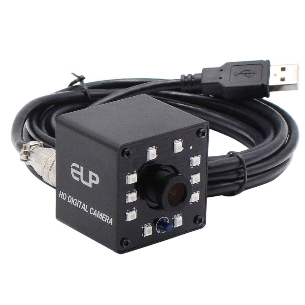 720 p CMOS OV9712 IR Infrarouge de Vision Nocturne de Sécurité CCTV Caméra OTG UVC Soutien Mini Webcam Caméra HD