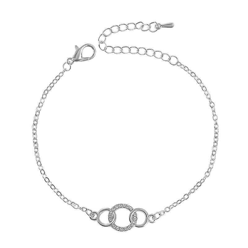 SHUANGR main de Fatima Bracelets Bff bijoux Hamsa mauvais œil Talisman Bracelet Femme bijoux or argent couleur chaîne Bracelets