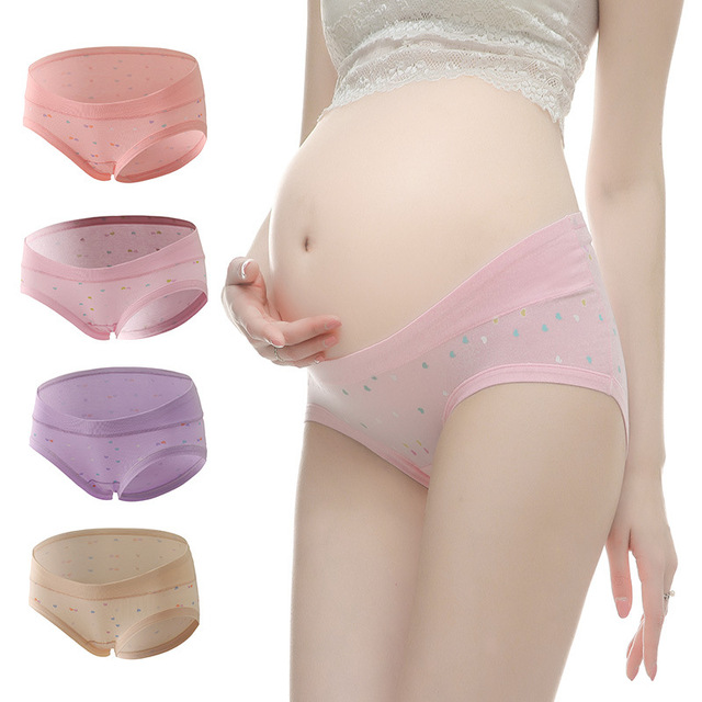 a12dfd9f5aa08 3PCS Pack Low Waist Maternity Panties Cotton V-shaped Sexy Maternity  Underwear Panties for Pregnant Women Clothes Panties YK12