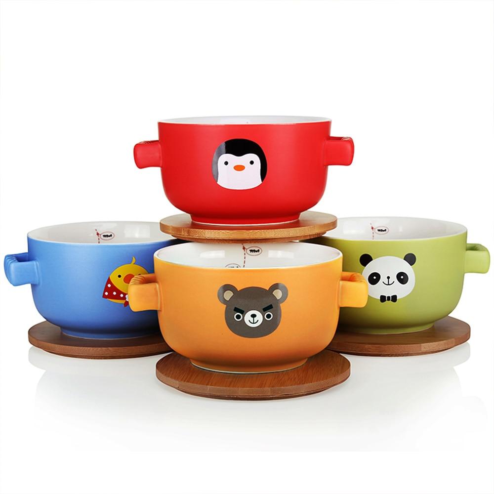 Upstyle Large Ceramic Soup Bowl Cartoon