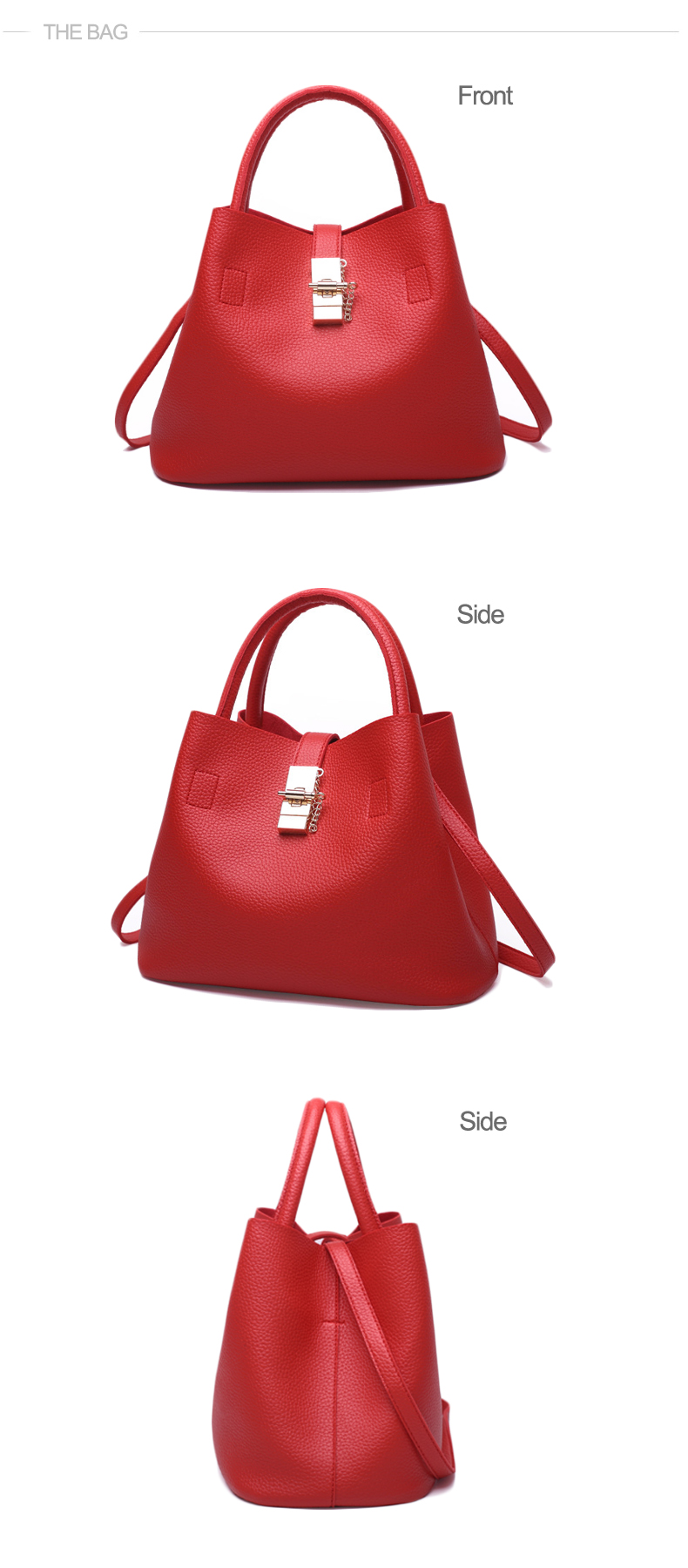 Explosion promotion in 2019, low price one day snapped up, Handbags, Fashion  Shoulder Bags pink one size 11