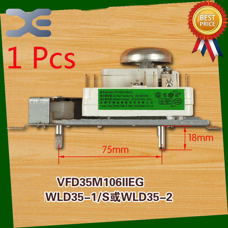 1Pcs Microwave Oven Timer Timer Oven VFD35M106IIEG WLD35-1/S WLD35-2/S Microwave Spare Parts ymf704c s ymf704 s qfp100 1pcs