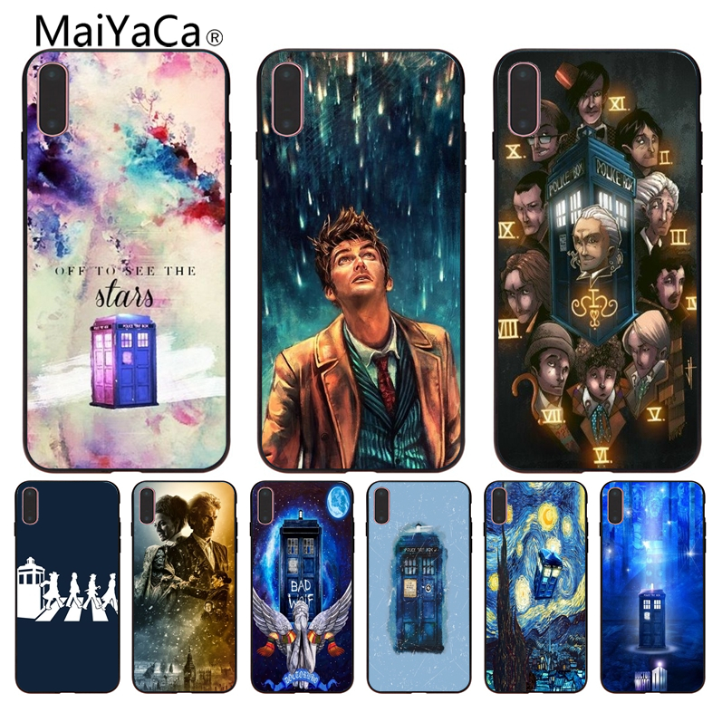 Phone Bags & Cases Obliging Maiyaca Tardis Box Doctor Who Coque Shell Phone Case For Iphone 8 7 6 6s Plus 5 5s Se Xr Coque Shell