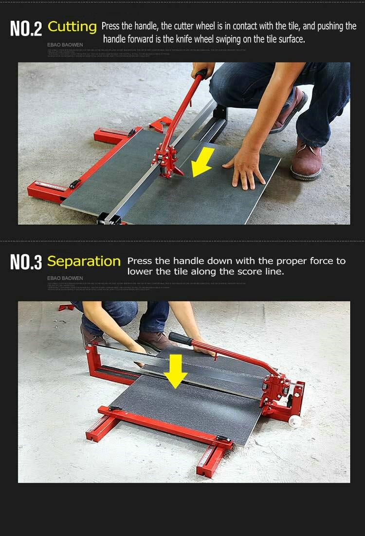 infravermelha cerâmica máquina de corte de telha