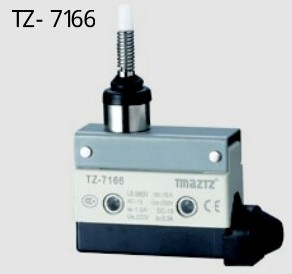 TZ-7166 Micro Switch Silver Alloy Contacts Limit Switch travel swich micro switch free shipping free shipping 1pcs lot travel switch cz 3103